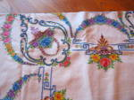 Click to view larger image of Embroidered Vintage Tablecloth w/Napkins (Image5)