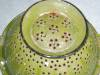 Click to view larger image of Vintage Green Graniteware Colander  (Image3)