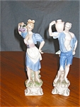 Click here to enlarge image and see more about item fig120212: Vintage Porcelain Figurines - Ardalt