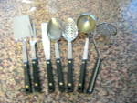 Click to view larger image of Vintage Flint Kitchen Utensils (Image5)