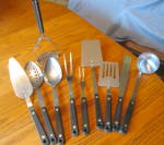 Vintage Flint Kitchen Utensils