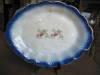 Click to view larger image of Antique Flow Blue Platter (Image5)