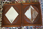 Click here to enlarge image and see more about item frames807: Victorian Eastlake Mirror Pair
