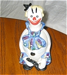 Click here to enlarge image and see more about item gclown12023: Vintage Clown Liquor Bottle