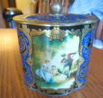 Click here to enlarge image and see more about item germantin90409: Vintage German Tin