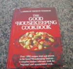 Click here to enlarge image and see more about item ghcookbook0612: First Edition Good Housekeeping Cookbook