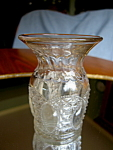 Click here to enlarge image and see more about item glass112006: Vintage Glass Posey Vase