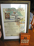 Click here to enlarge image and see more about item golddust1007: Vintage Gold Dust Washing Powder and Print