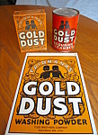 Click here to enlarge image and see more about item golddust70813: Vintage Gold Dust Laundry Assortment