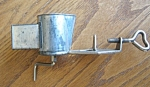 Click here to enlarge image and see more about item grater20992: Vintage Miniature Tin Grater