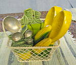 Click to view larger image of Retro Green Kitchenware (Image3)