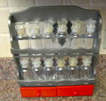 Click to view larger image of Painted Vintage Spice Rack (Image5)