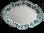 Click here to enlarge image and see more about item grindley102106: Antique Grindley Platter