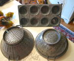 Antique Graniteware Pans