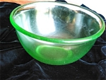Click here to enlarge image and see more about item ha90427: Hazel Atlas Depression Glass Mixing Bowl