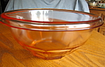 Hazel Atlas Pink Depression Glass Bowl