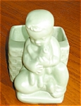 Click here to enlarge image and see more about item hag120221: Haeger Little Boy Vase