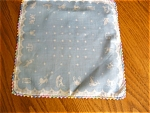 Click here to enlarge image and see more about item hanky90507d: Vintage Zodiac Hanky