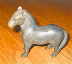 Click here to enlarge image and see more about item hcst07071: Cast Iron Antique Horse Bank