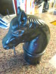 Click to view larger image of Horse Head Antique Hitching Post (Image6)