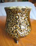 Click here to enlarge image and see more about item hull10409: Hull Pottery Footed Vase
