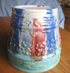 Click to view larger image of Antique Hull Pottery Jardiniere (Image2)
