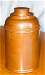 Click here to enlarge image and see more about item hum03031: Vintage Rumidor Copper Humidor