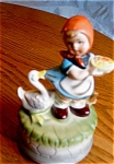 Click here to enlarge image and see more about item hummel120411: Artmark Musical Hummel Style Figurine