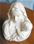 Click here to enlarge image and see more about item hv09091: Inarco Madonna Head Vase