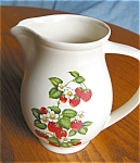 Click here to enlarge image and see more about item hya06062: Vintage Hyalyn Pottery Pitcher