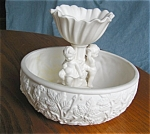 Click here to enlarge image and see more about item inarc10031: Vintage Matte White Pottery