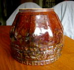 Click to view larger image of Vintage Blended Glaze Jardiniere (Image2)
