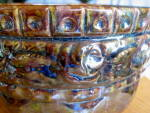 Click to view larger image of Vintage Blended Glaze Jardiniere (Image3)