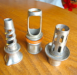 Click here to enlarge image and see more about item juicer112006a: Vintage Juicers and Corer