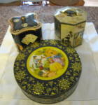 Vintage Collectible Kitchen Tins