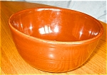 Click here to enlarge image and see more about item kmix08081: Vintage Brown Mixing Bowl
