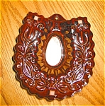 Click here to enlarge image and see more about item kmld08082: Brown Glazed Horseshoe Shape Mold