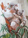 Click to view larger image of Koala Bear Linen Kitchen Towels (Image3)