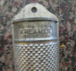 Click to view larger image of Kreamer Antique Tin Spice Grater (Image2)