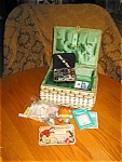 Sewing Box and Notions Assortment