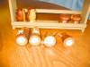 Click to view larger image of Wooden Souvineer Shakers w/Rack (Image3)