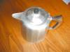 Click to view larger image of Antique Wagner Cast Aluminum Teapot (Image4)