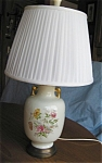 Click here to enlarge image and see more about item lamp204201: Vintage Lamp