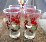 Click here to enlarge image and see more about item libbeyglasses4013: Libbey Glasses - Dancers