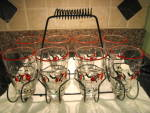 Click to view larger image of Libbey Glass Set w/Carrier (Image2)