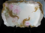 Click here to enlarge image and see more about item limoges120513: Limoges Antique Porcelain Laviolette Tray