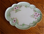 Click here to enlarge image and see more about item limoges40620a: French Limoges Porcelain Tray
