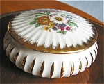 Click here to enlarge image and see more about item limoges70426: French Limoges Box Porc Leclair