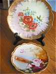 Click here to enlarge image and see more about item limoges80520: Limoges Plates Pickard