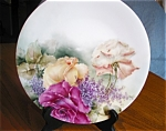 Click here to enlarge image and see more about item limoges90525x: Antique T & V French Limoges Plate